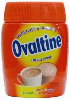 Curiosidade do nome Ovomaltine que foi registrado erroneamente na Inglaterra.
