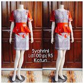 Dress Batik Solo DB 5093 Harga Reseller : Rp 80.000,-