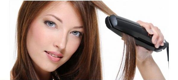 prancha de alisamento de cabelo