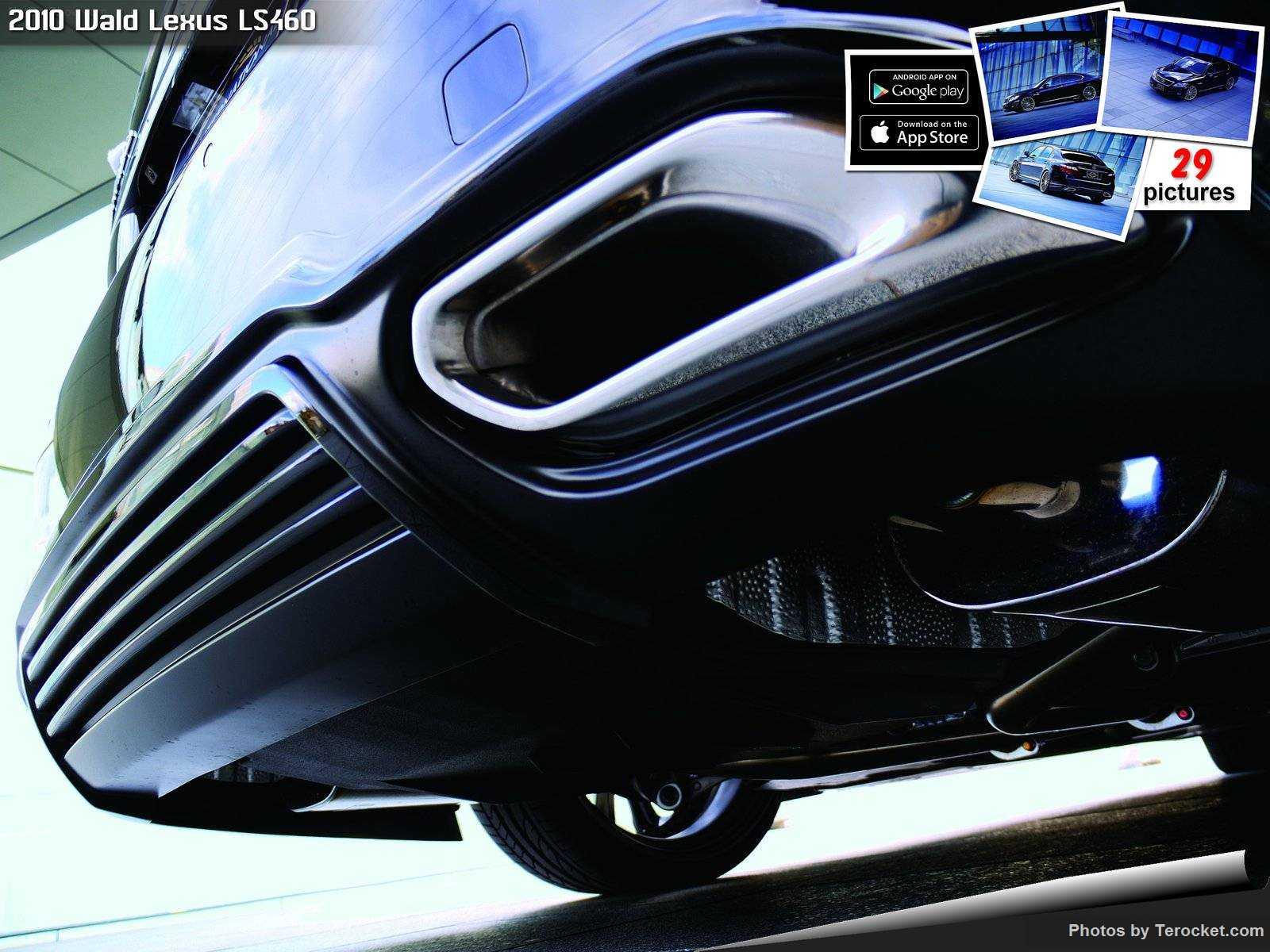 Hình ảnh xe độ Wald Lexus LS460 2010 & nội ngoại thất