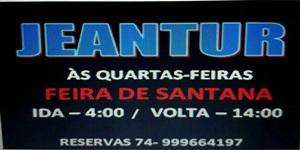 JEANTUR: VIAGENS PARA FEIRA DE SANTANA