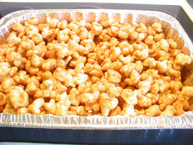 CARAMEL CORN...AWESOME AND EASIEST EVER!