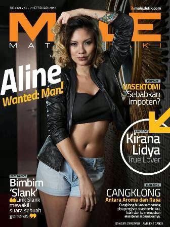 Download Majalah MALE Mata Lelaki 068 - Aline Adita, Wanted Man!