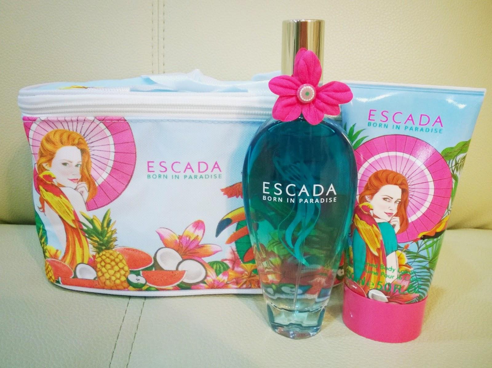 Escada Perfume Born In Paradise Price 60 Ans De Mariage Idee Cadeau