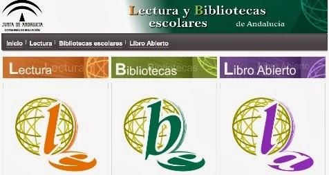 Lectura y Bibliotecas escolares de Andalucía