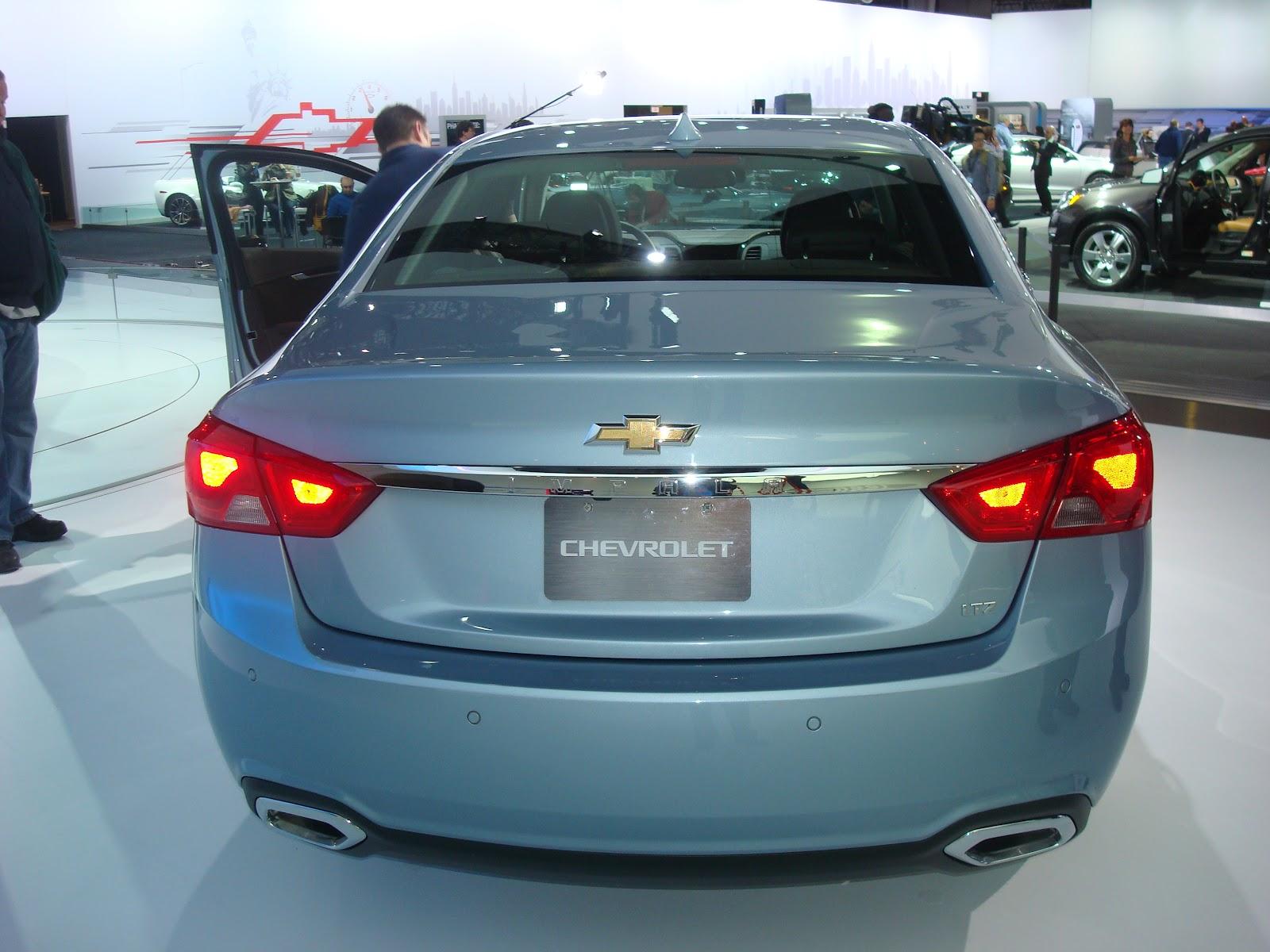 2014 Chevy Impala Light Blue
