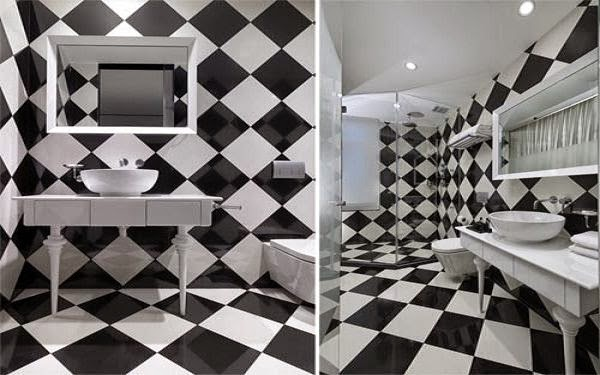 Singapore The Club Luxury Hotel Design With Black And White Concept
