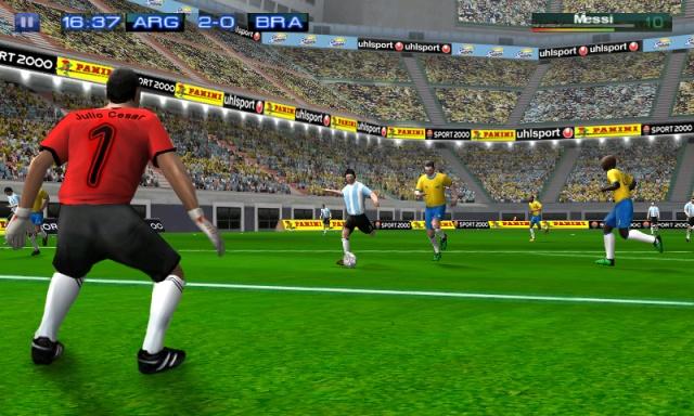Скачать игры футбол на телефон samsung