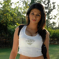 blooming and gorgeous Shraddha das in white tops