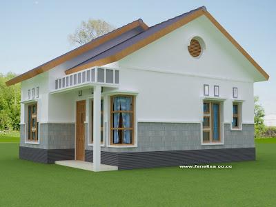 alfajar kuala kapuas: gambar rumah sederhana