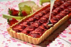 وصفة طورطة التوت أو الفراولة