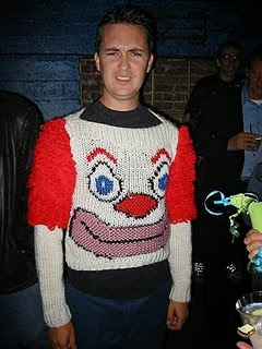 Bad Clown Sweater