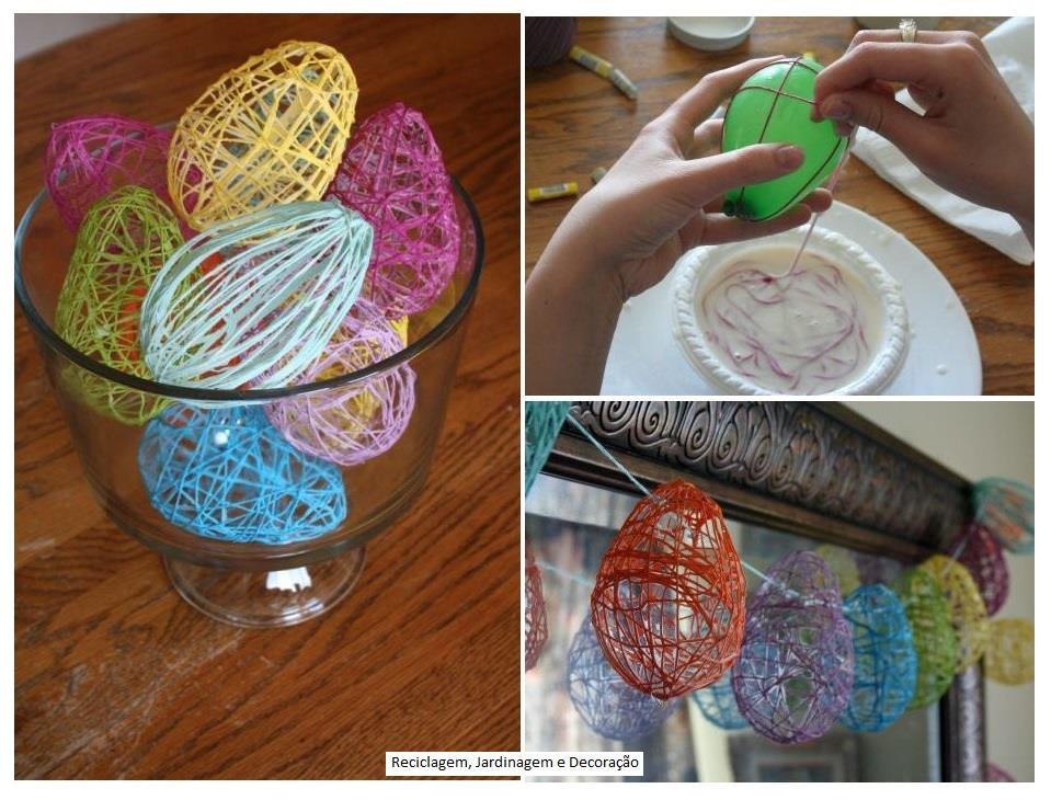 Ideias De Pascoa ~ Reciclar, reformar e decorar Páscoa!