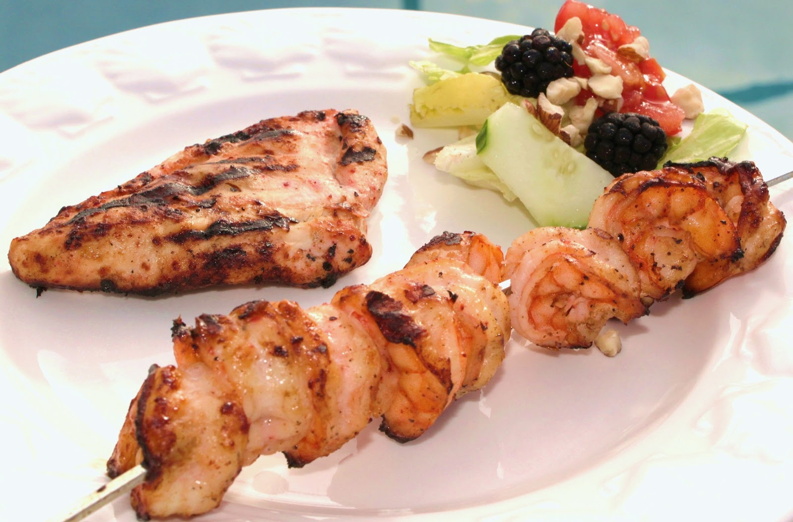 Island Rum Marinade for Chicken or Shrimp Recipe and Our Cruise