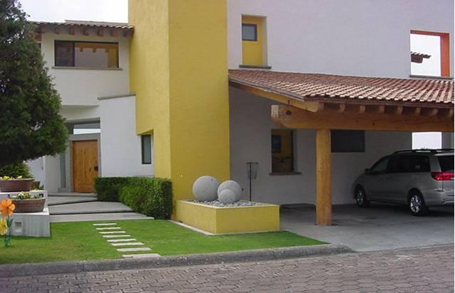 Fachadas contempor neas fachada contempor nea estilo mexicano for Estilos de casas contemporaneas