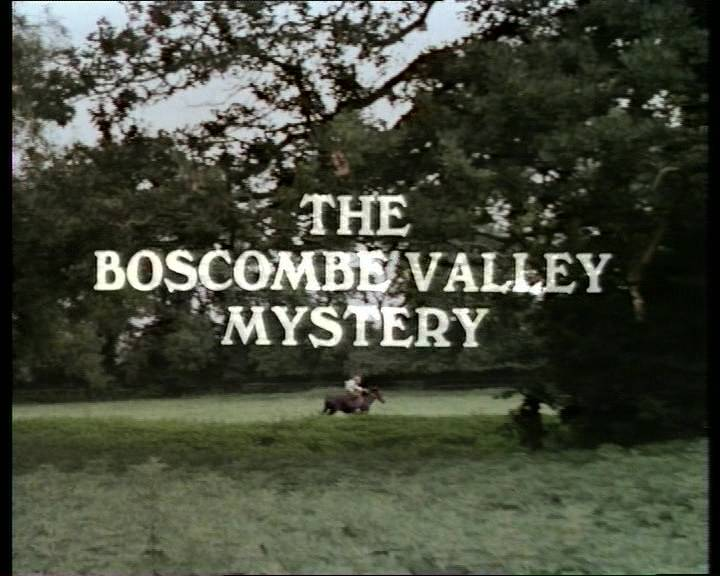 A brief note about The Adventure of the Boscombe Valley