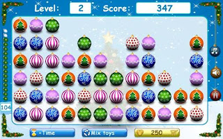 Screenshots of the Christmas tree toys for Android tablet, phone.