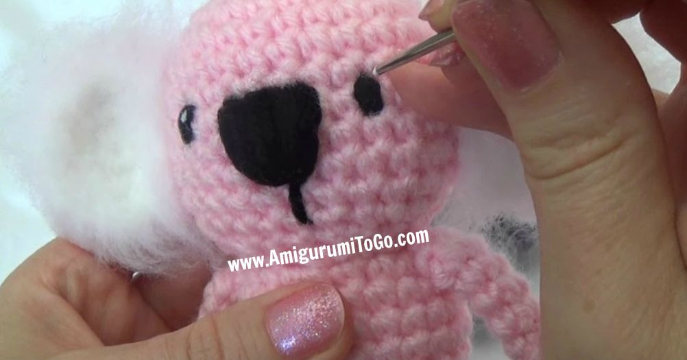Amigurumi Freely Bear : Wee Koala Amigurumi ~ Amigurumi To Go