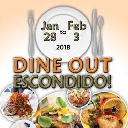 Dine Out! Escondido Returns January 28 - February 3!