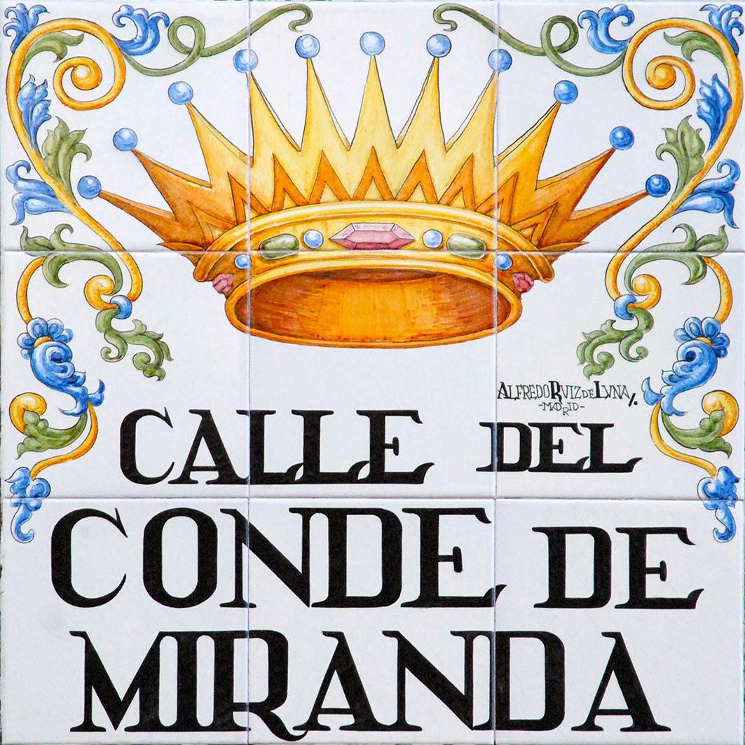 Calle del Conde de Miranda