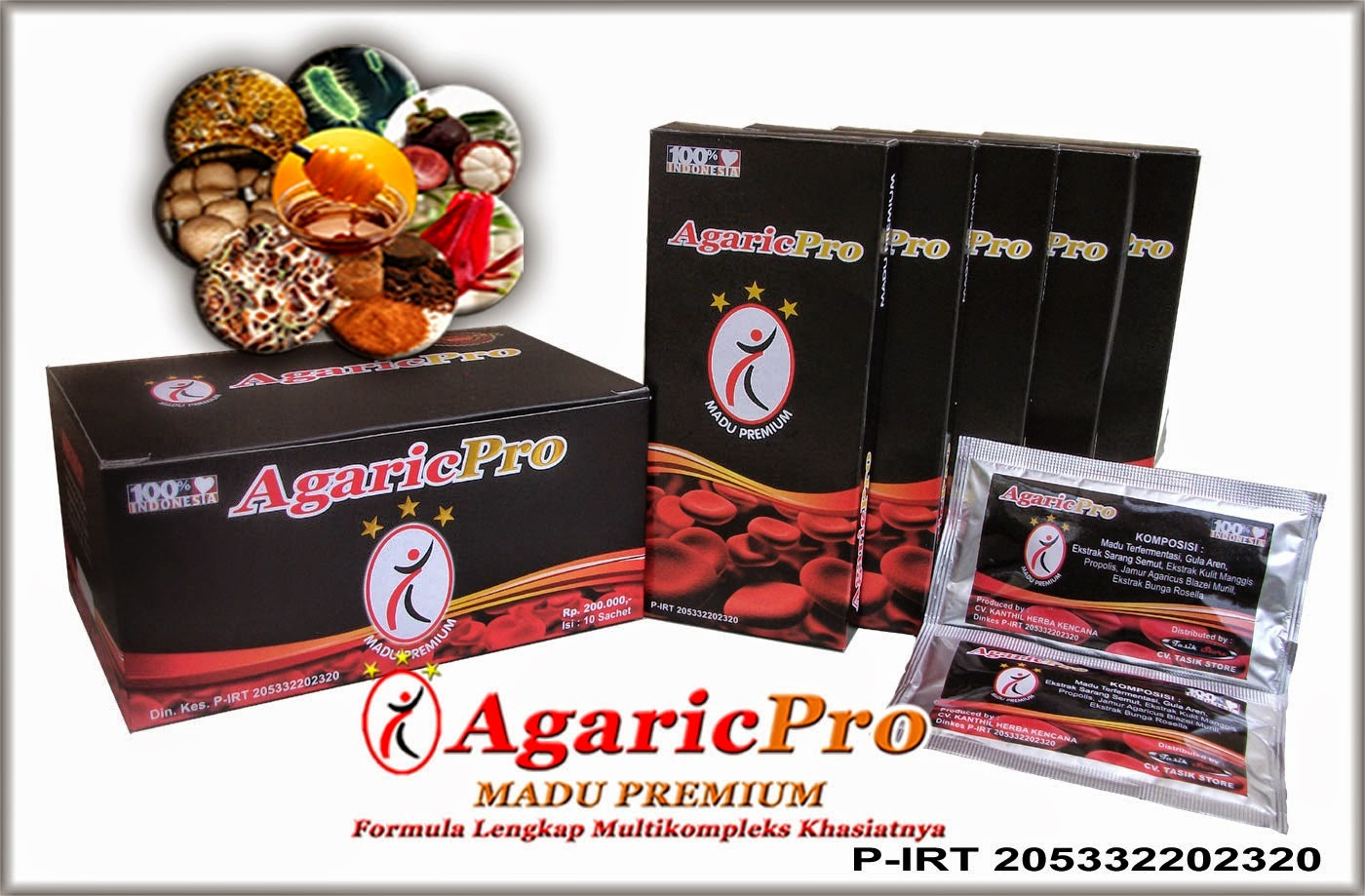 Komposisi Obat Herbal AgaricPro