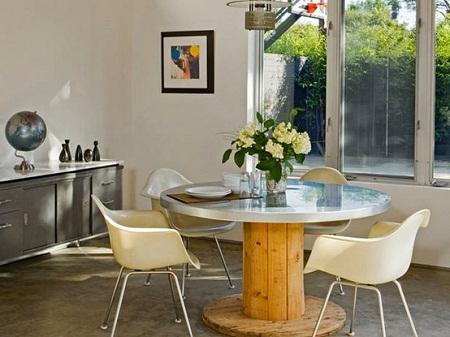 10 ideas para reciclar carretes de cable - Reciclar muebles de madera ...
