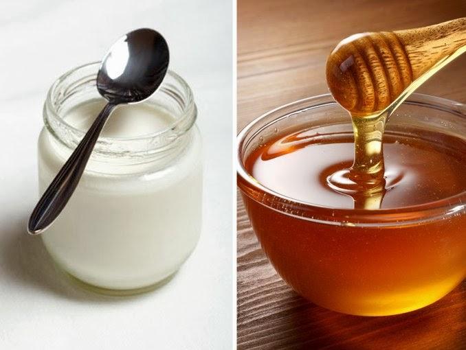 mascarilla facial casera yogurt y miel