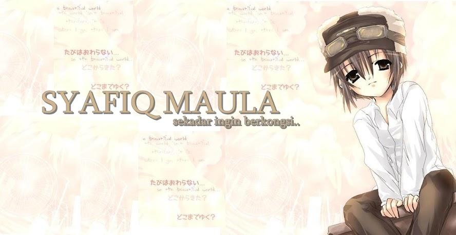 SYAFIQ MAULA
