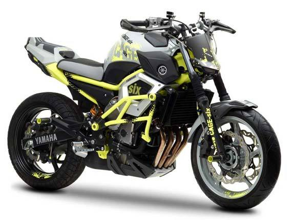 Foto Modifikasi Yamaha Moto Cage-Six Cool
