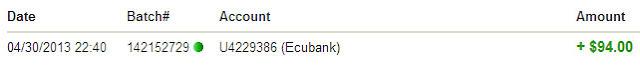 prueba de pago ecubank