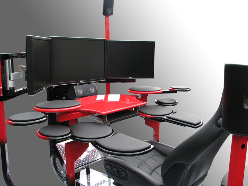 Modern Ergonomic Computer Chairs Interior Decorating Idea