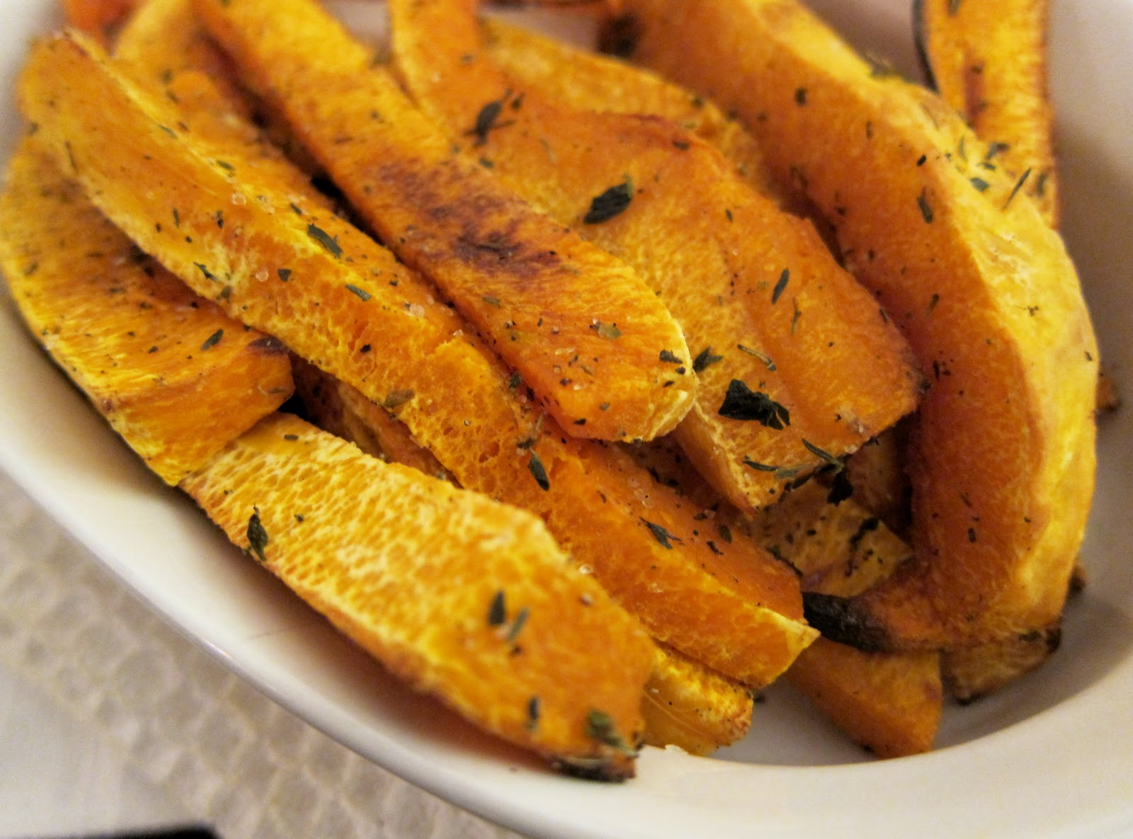 Butternut Squash Fries Recipe — Dishmaps