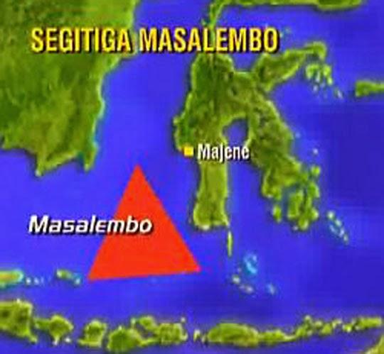 Segitiga Masalembo, Indonesia