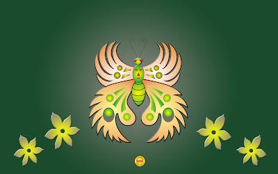 Photoshop: Butterfly at Fantasy Country (Kupu-kupu di Negeri Impian