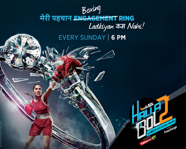 Utv Bindass Halla Bol Season-2 Concept|Videos|Title Song|Every Sunday at 6:00pm