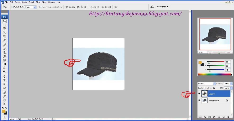background foto agar transparan