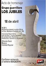 Acto Homenaje Grupo Guerrillero Los Jubiles