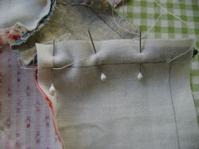 hand piecing