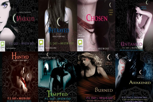 The house of night series the book home for Housse of night