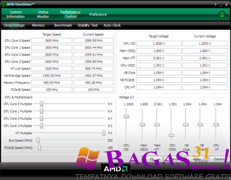 AMD OverDrive 4.2.3 2