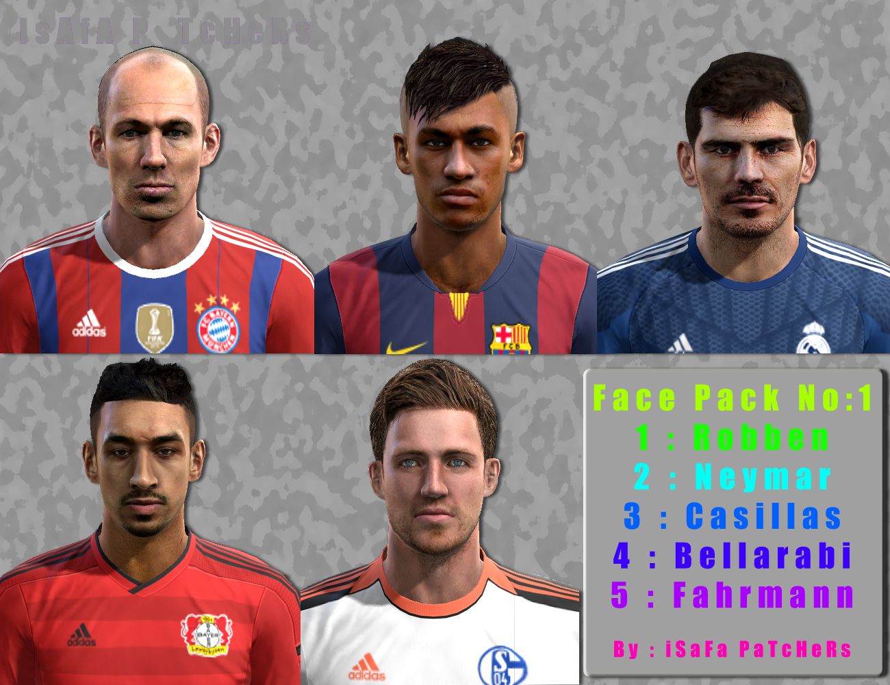 PES 2013 International Facepack V1 by IsAfA Patchers