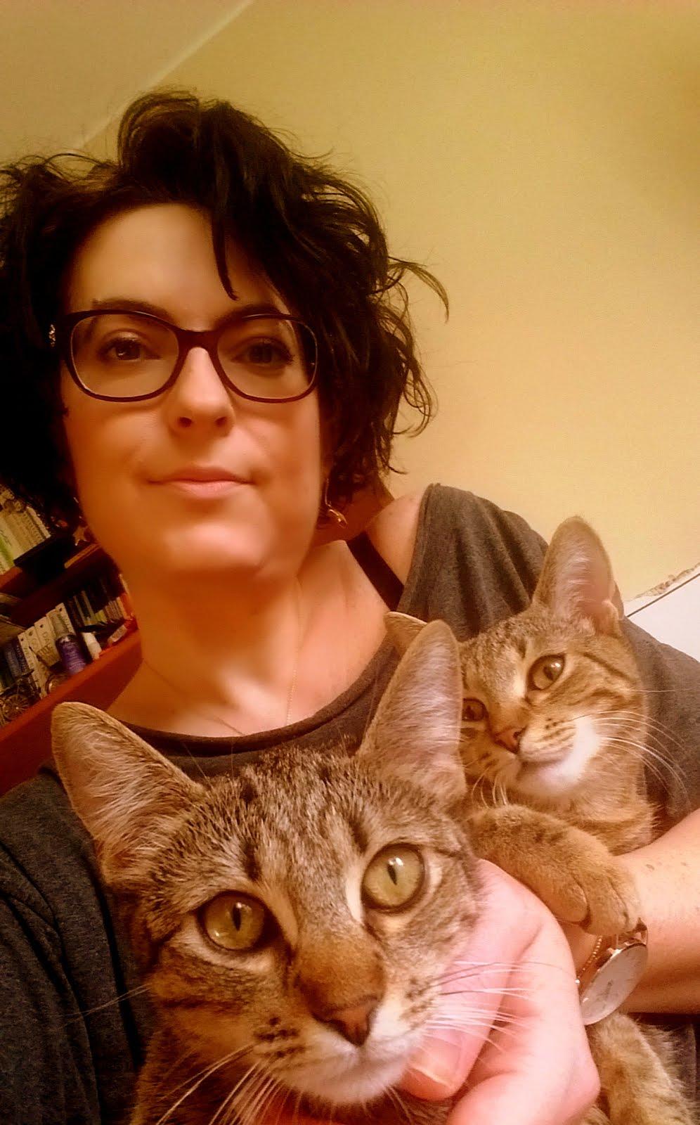 Z cyklu - Joanna i koty: