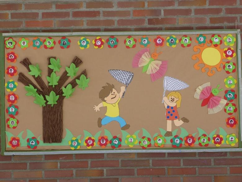 Murales infantiles primavera imagui for Murales infantiles