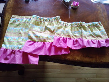 4 matching Easter skirts