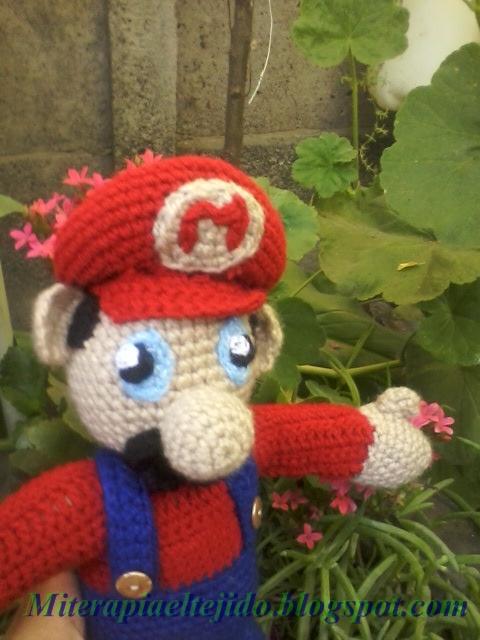 Mi terapia el tejido *: Amigurumi de Mario Bros