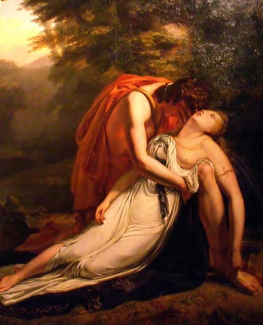 Euridice, Orpheus, Ary Scheffer