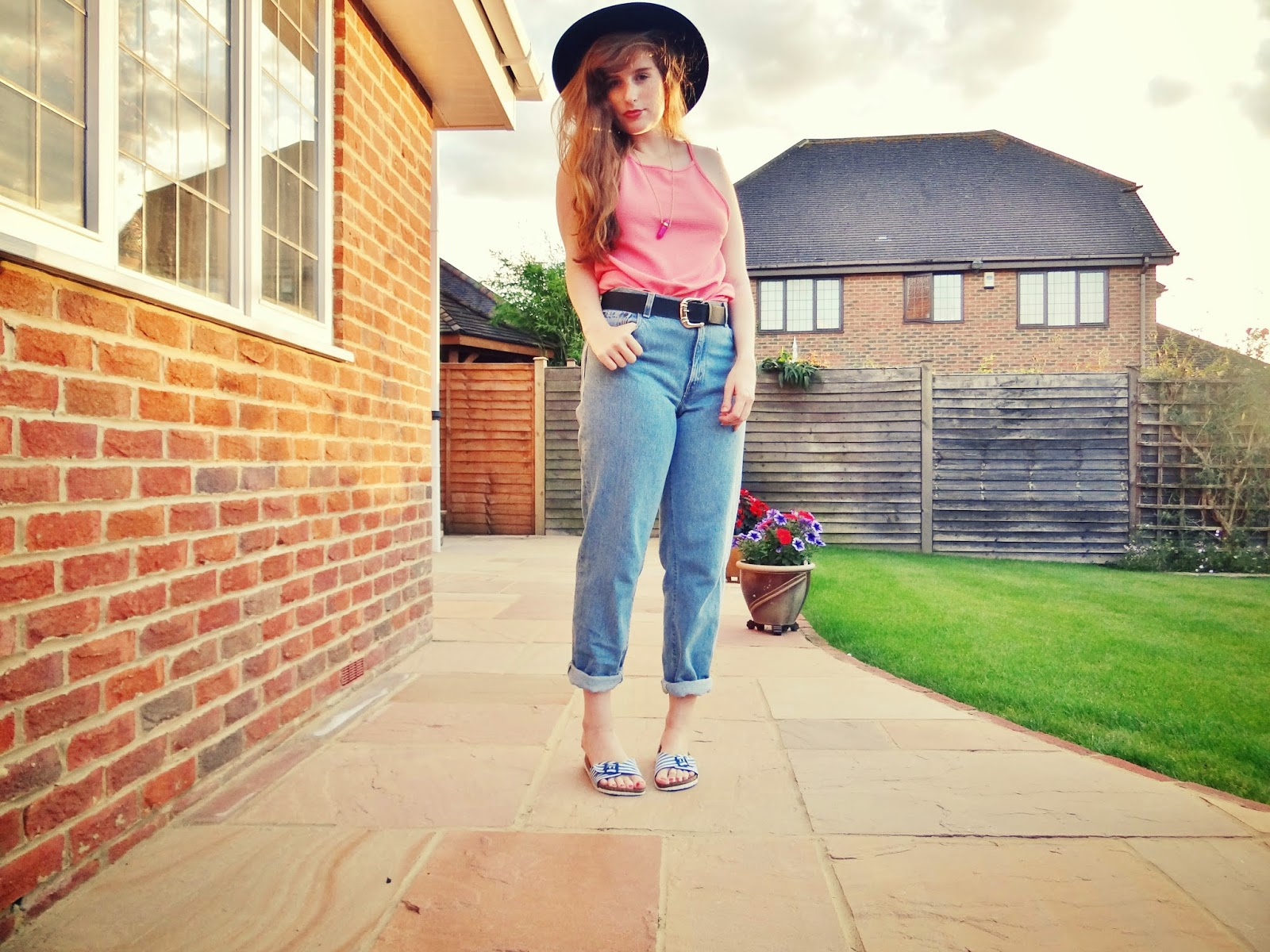 how to style vintage levi jeans