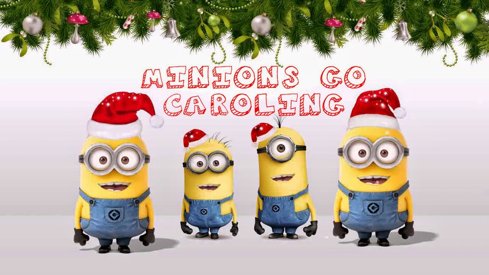 Los Minions cantan villancicos, Minions go caroling