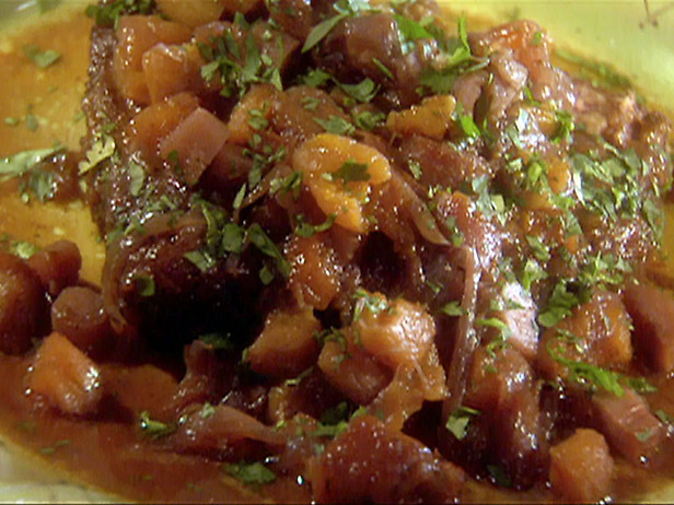 Slow Cooker Moroccan Brisket with Red Onions and Apricot ...
