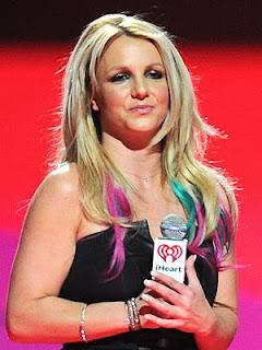 Britney's Technicolor Hair